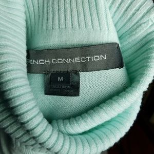 French Connection Sweaters - French connection soft knit holiday turtle neck